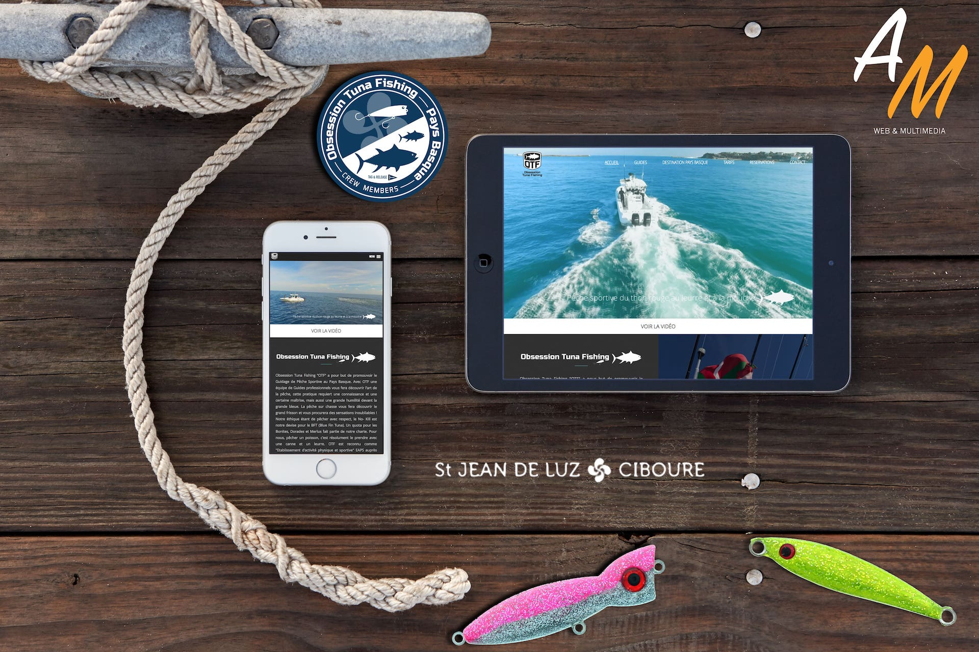Site web Obsession Tuna fishing